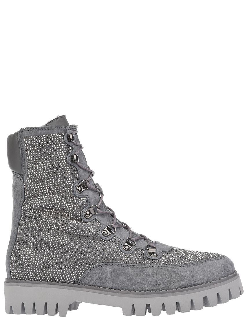 Купить Ботинки, GIANNI RENZI, Серый, Осень-Зима