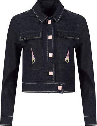 TRUSSARDI джинсовая куртка