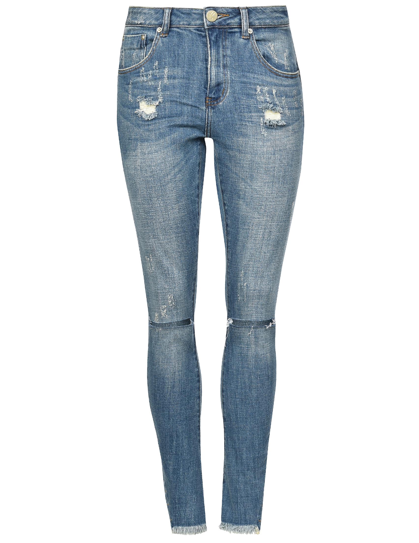 Женские джинсы ONETEASPOON 19556-A-indigo_blue