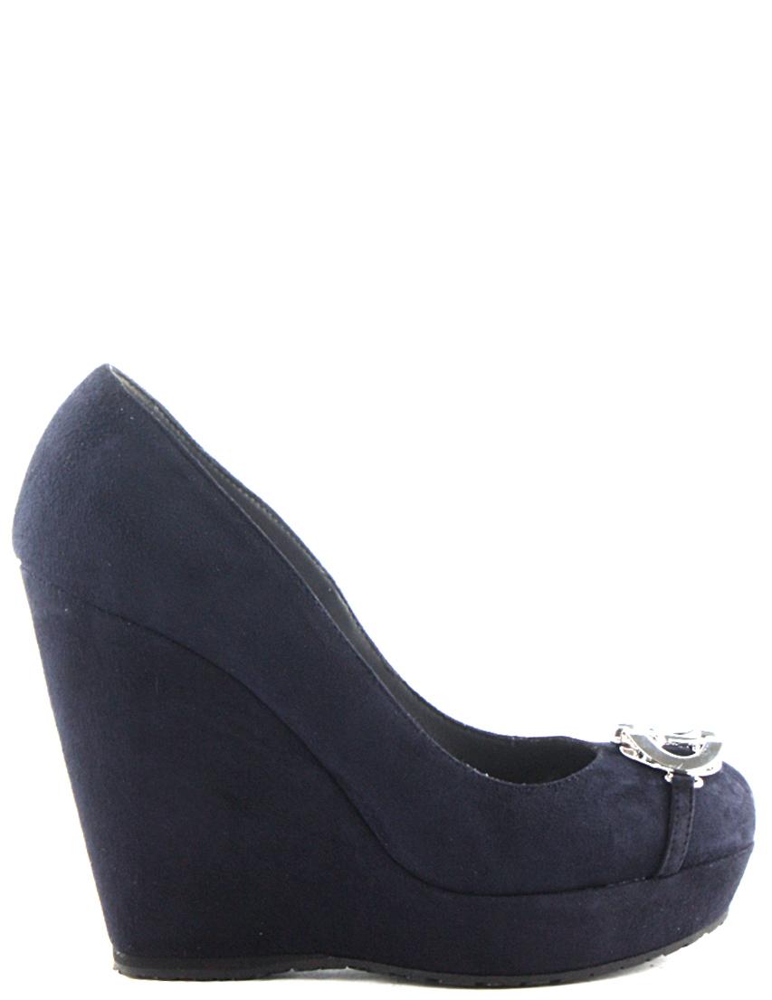 Купить Туфли, 4US CESARE PACIOTTI, Синий, Осень-Зима