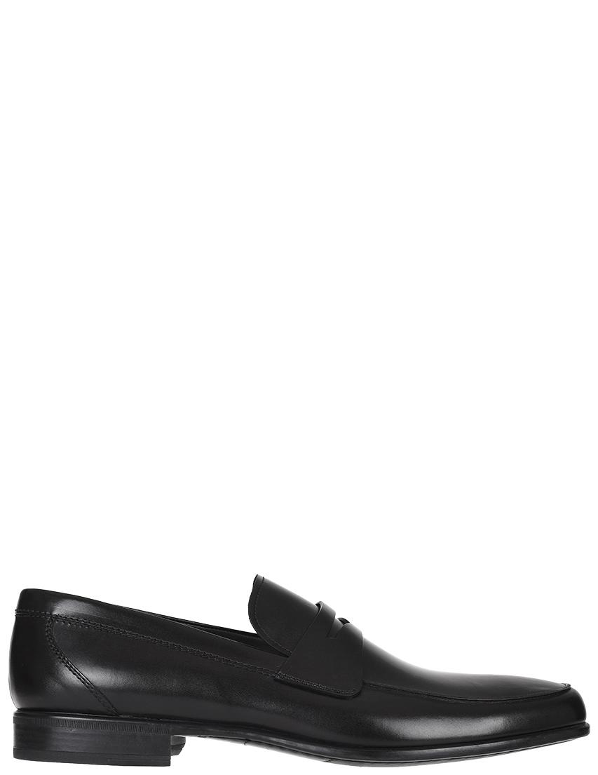 Мужские лоферы Moreschi 40131-black