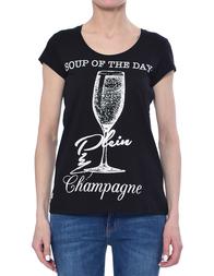 Женская футболка PHILIPP PLEIN 0024_black