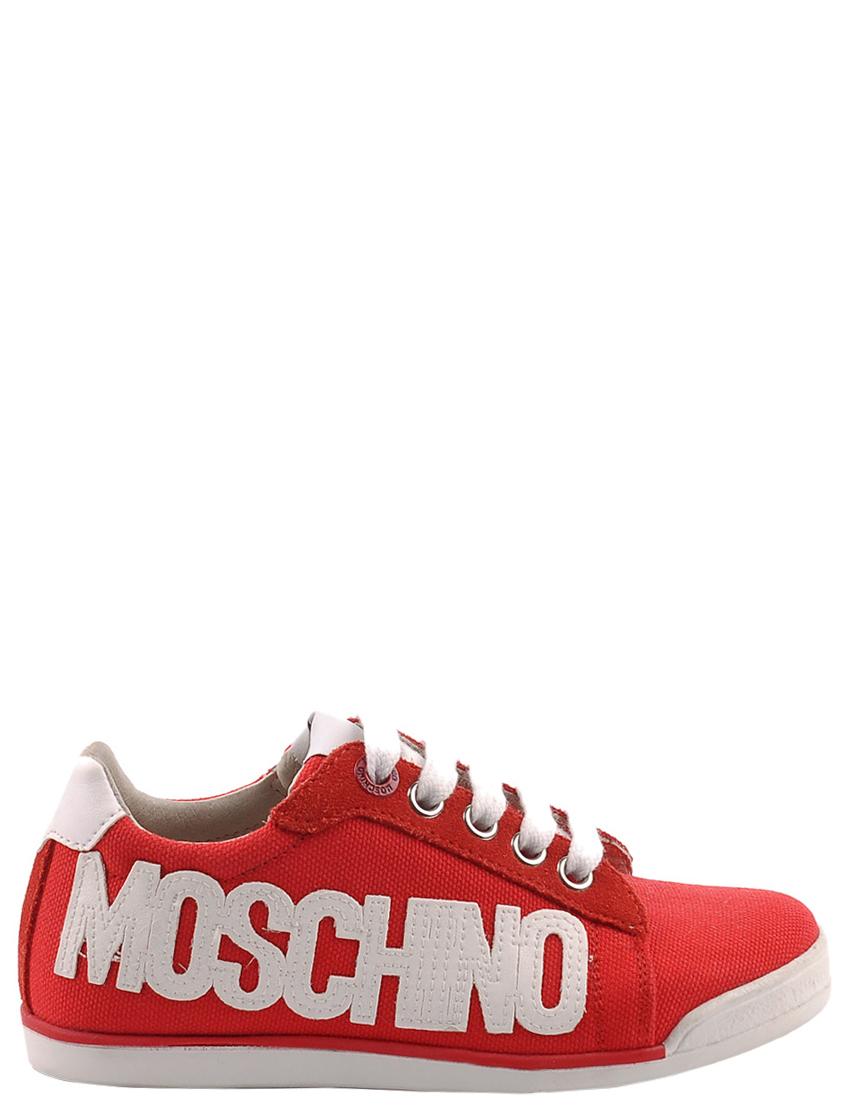 Детские кроссовки для девочек MOSCHINO 25328-red
