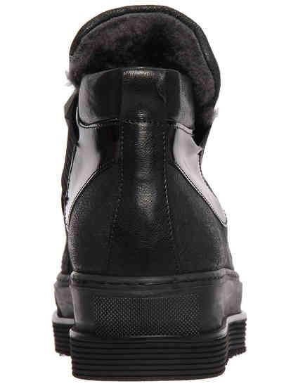 женские черные Ботинки Laura Bellariva 7532CTM_black - фото-2