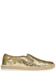Детские мокасины для девочек Naturino 8089-glitter-platino_gold