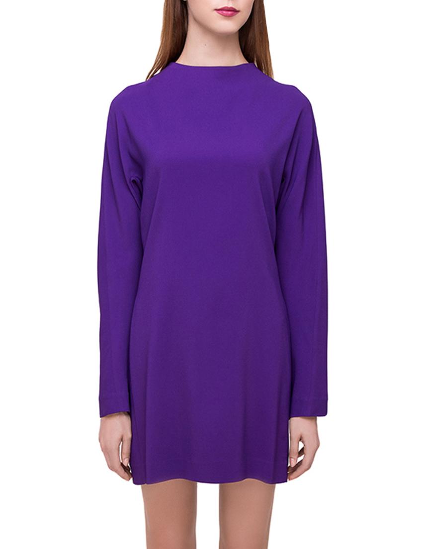 Купить Платье, MARNI, Фиолетовый, 98%Вискоза 2%Эластан, Осень-Зима