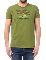 Мужская футболка HARMONT&BLAINE HBIX11120534630