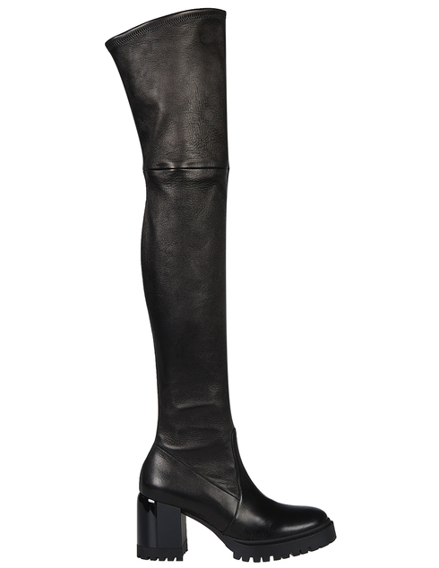 черные Ботфорты Casadei 582_black размер - 36
