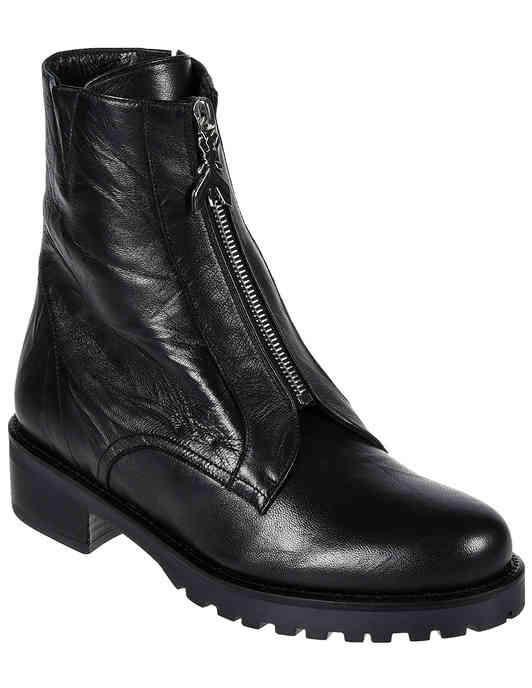 женские черные Ботинки Patrizia Pepe 2V8937-A3RL-K103_black - фото-2