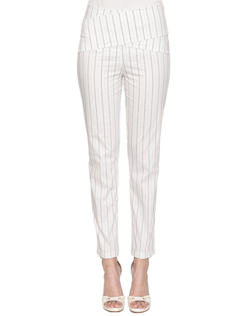 Женские брюки PATRIZIA PEPE 2P1063-A01F-X715_white