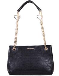 Женская сумка Love Moschino 4078-cocco_black