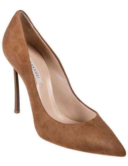 женские коричневые Туфли Casadei 4177_brown - фото-2