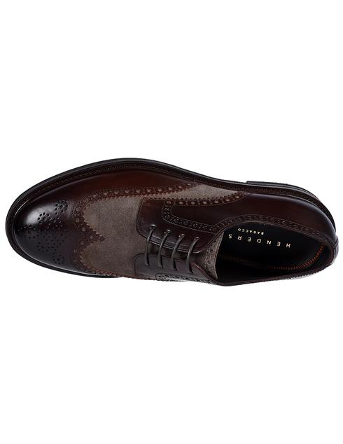 коричневые мужские Дерби Henderson Baracco 59216.1 10520 грн