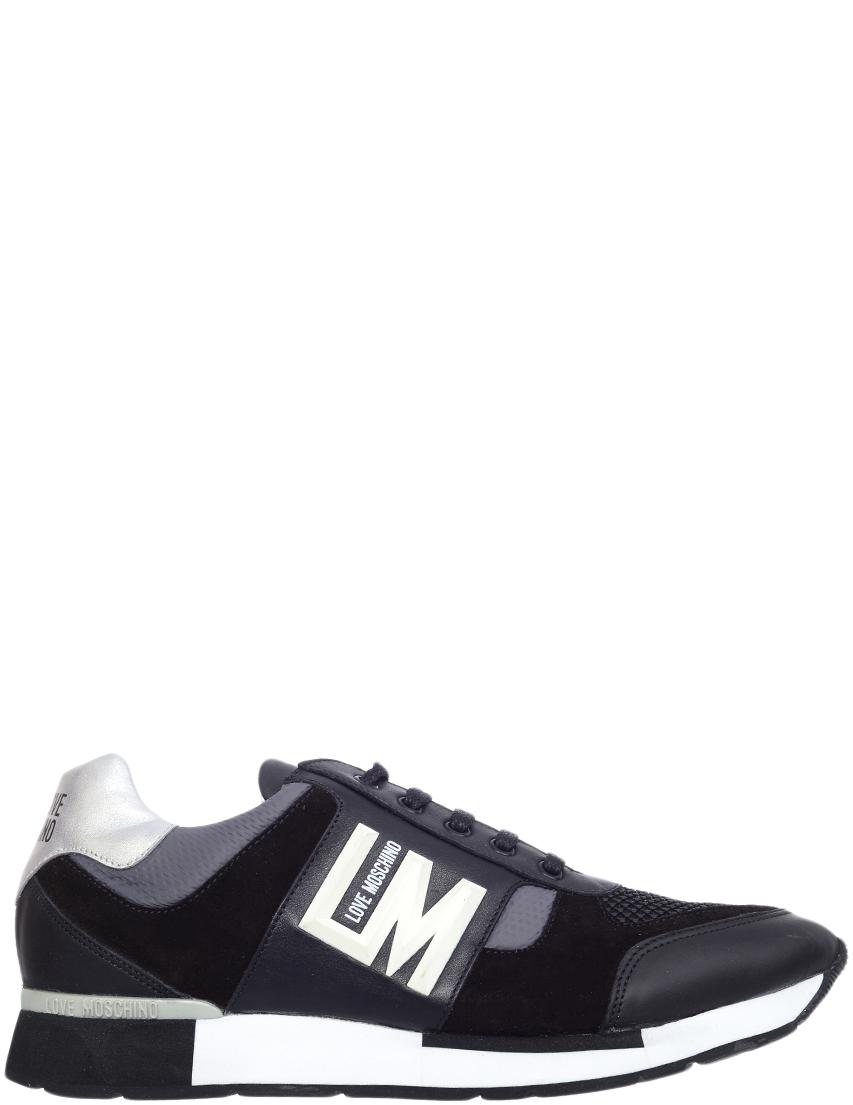 Мужские кроссовки Love Moschino 750619101_black