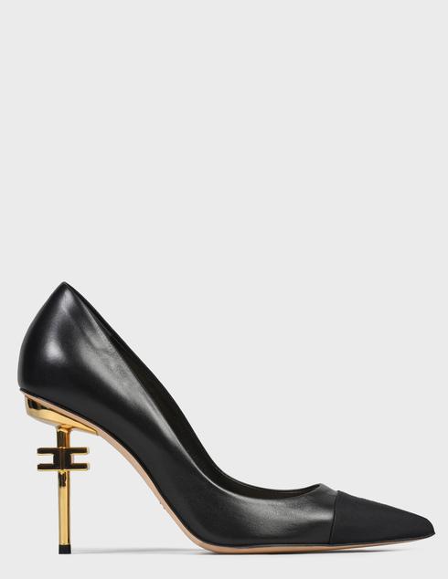 женские черные Туфли Elisabetta Franchi SA-30B-16E2-V490-110 - фото-2