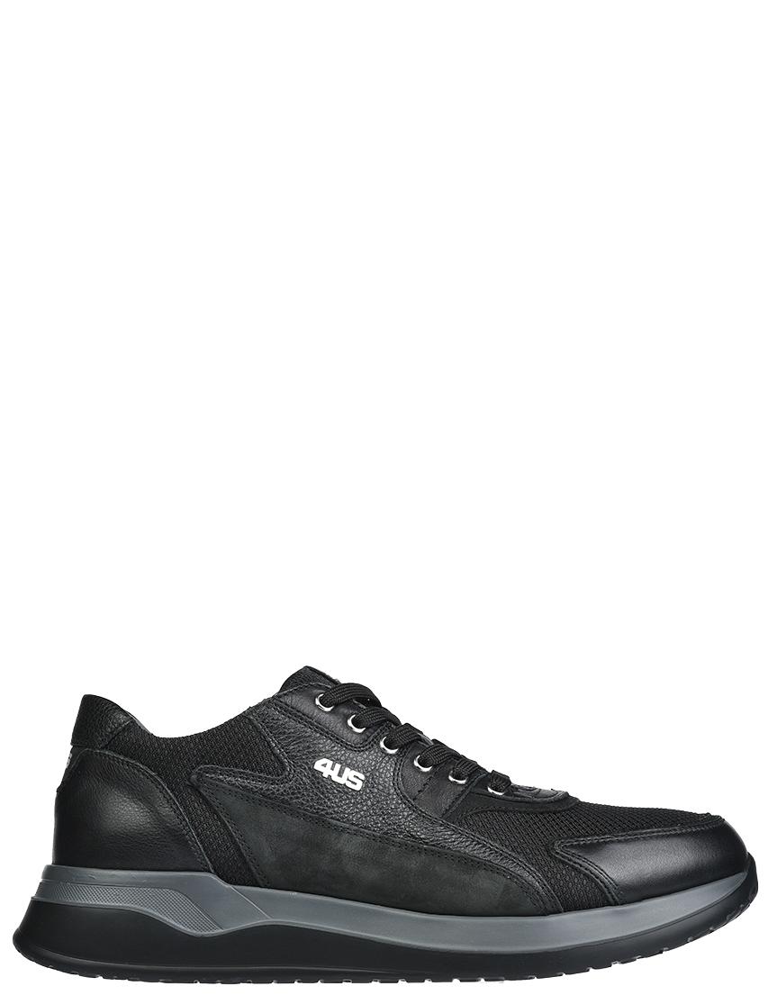Мужские кроссовки 4US Cesare Paciotti DU2TSZ_black
