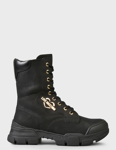 женские черные Ботинки Love Moschino JA15654G0DIU0000 - фото-6