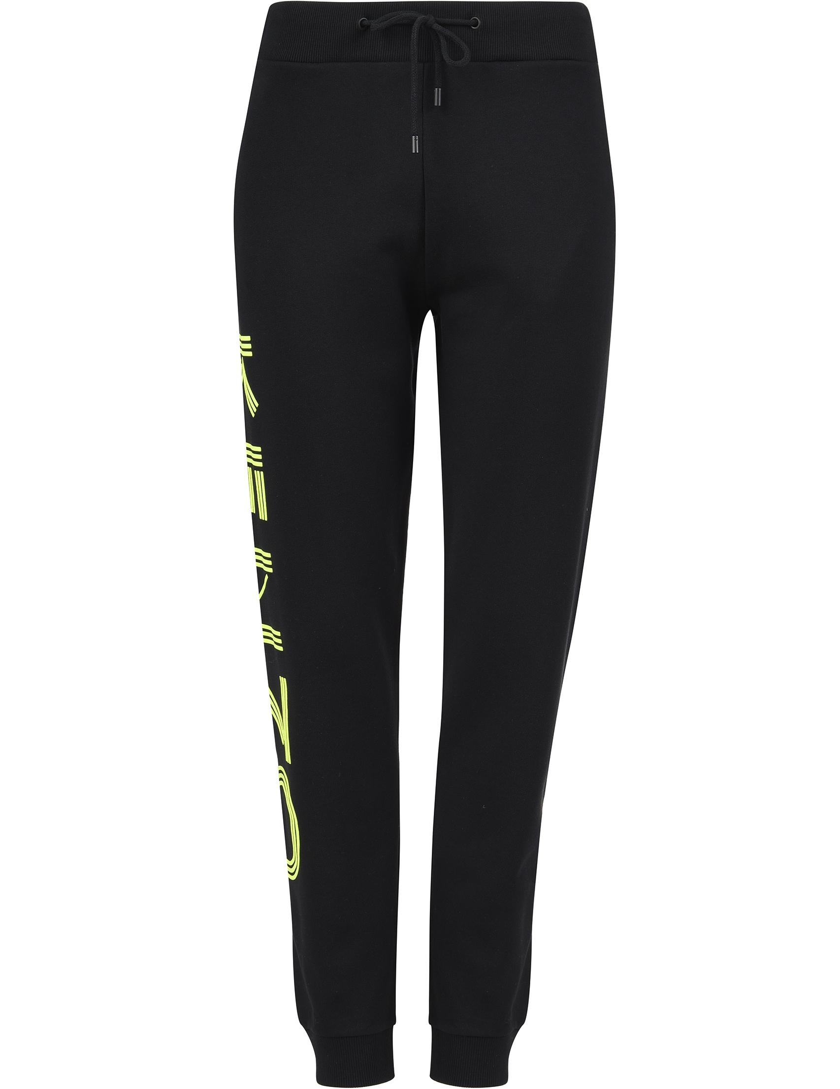 Купить Спортивные брюки, KENZO, Черный, 100%Хлопок, Весна-Лето