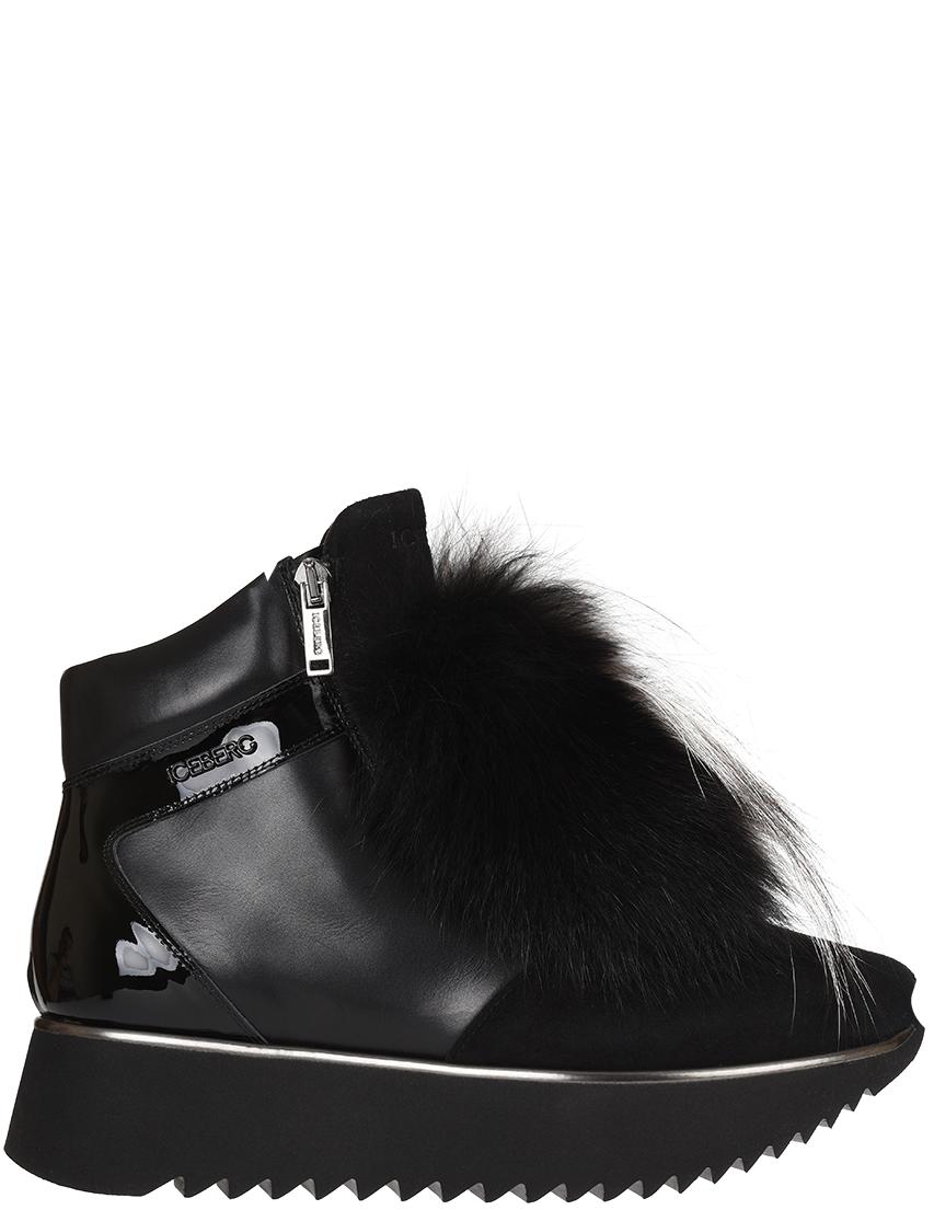 Женские ботинки Iceberg 1394-L-fox_black