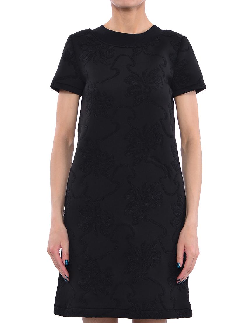 Купить Платье, TWIN-SET, Черный, 100%Полиэстер, Весна-Лето