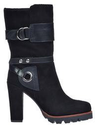 Женские сапоги ALBANO 6220-L_black
