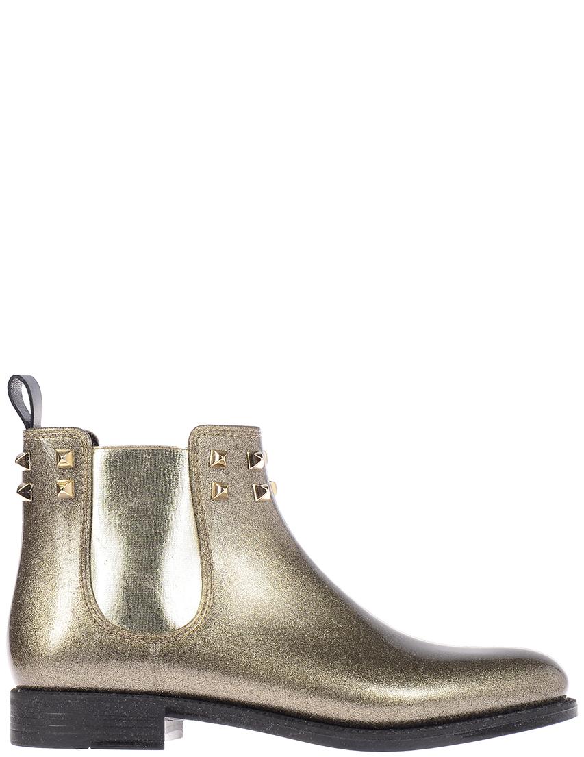 Купить Ботинки, MENGHI, Золотой, Осень-Зима