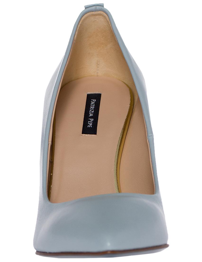 Фото 4 - женские туфли  голубого цвета