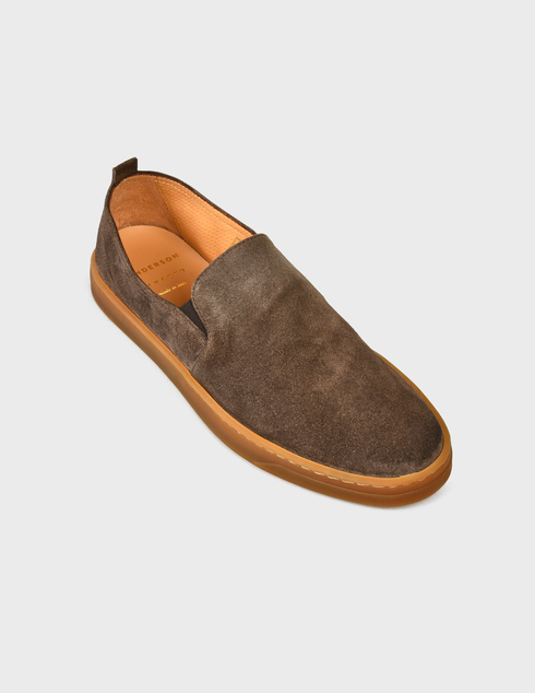коричневые Слипоны Henderson Baracco AGR-RODI.0