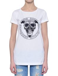 Женская футболка TRUSSARDI JEANS 56T111-01_white