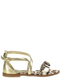 Босоножки для девочек ROBERTO CAVALLI C41535_leo
