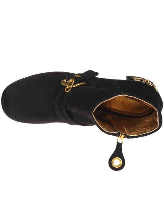 черные Ботильоны Car Shoe KDT53N008F0002_black размер - 38