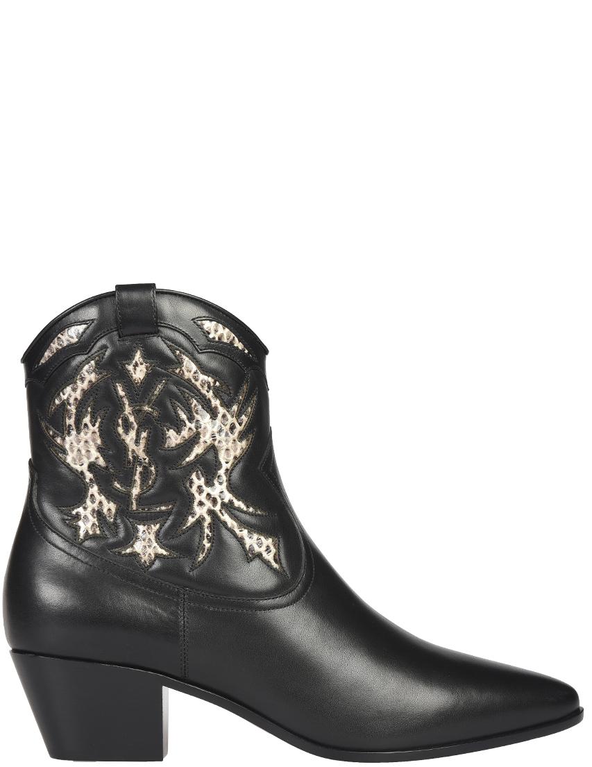 Женские ботинки Saint Laurent Paris 457766_black