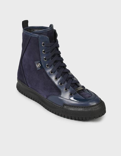 женские синие Ботинки Baldinini D2BS03VIVC1515 - фото-2