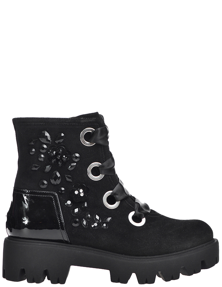 Купить Ботинки, MARZETTI, Черный, Осень-Зима