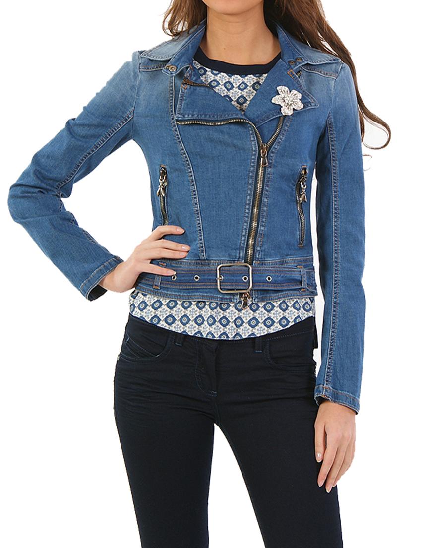 фото джинсовых курток со стразами весна
