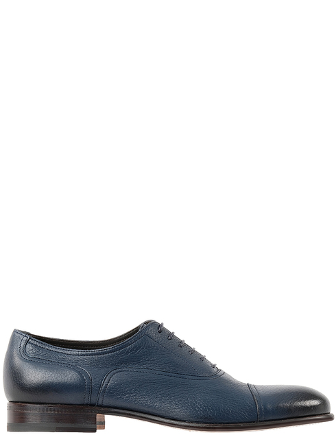 мужские синие Туфли Moreschi 042166 - фото-2