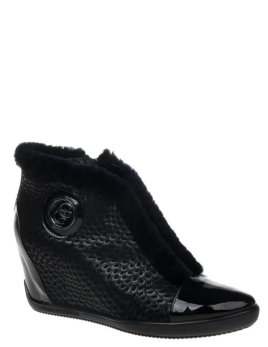 Купить Ботинки, GIADA GABRIELLI, Черный, Осень-Зима