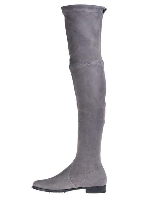 серые женские Ботфорты Mascaro 305_gray 10469 грн