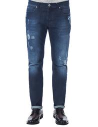 Мужские джинсы BIKKEMBERGS 012-81-008B_blue