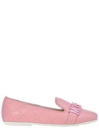 Детские туфли для девочек Moschino 25858-vitello-rosa_pink