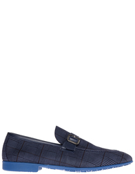 Мужские лоферы Moreschi S42174_blue