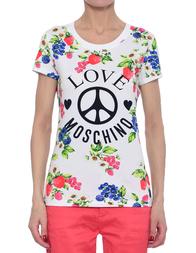 Женская футболка LOVE MOSCHINO 4B193Q-E1698-A00