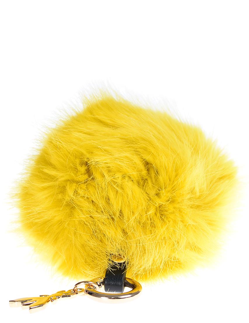 Купить Аксессуар к сумке, PATRIZIA PEPE, Желтый, 100%Мех, Осень-Зима