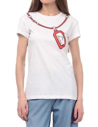 Женская футболка LOVE MOSCHINO 4F7803M3517A00
