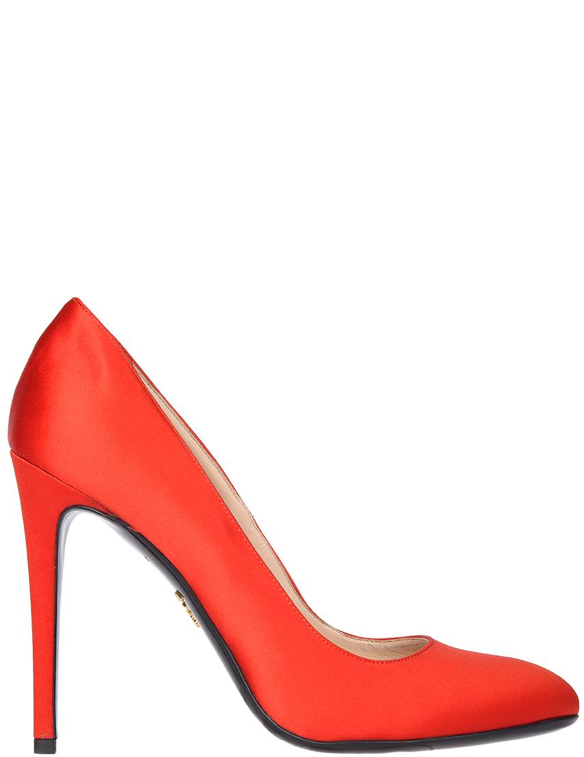 Купить Туфли, PRADA, Красный, Весна-Лето