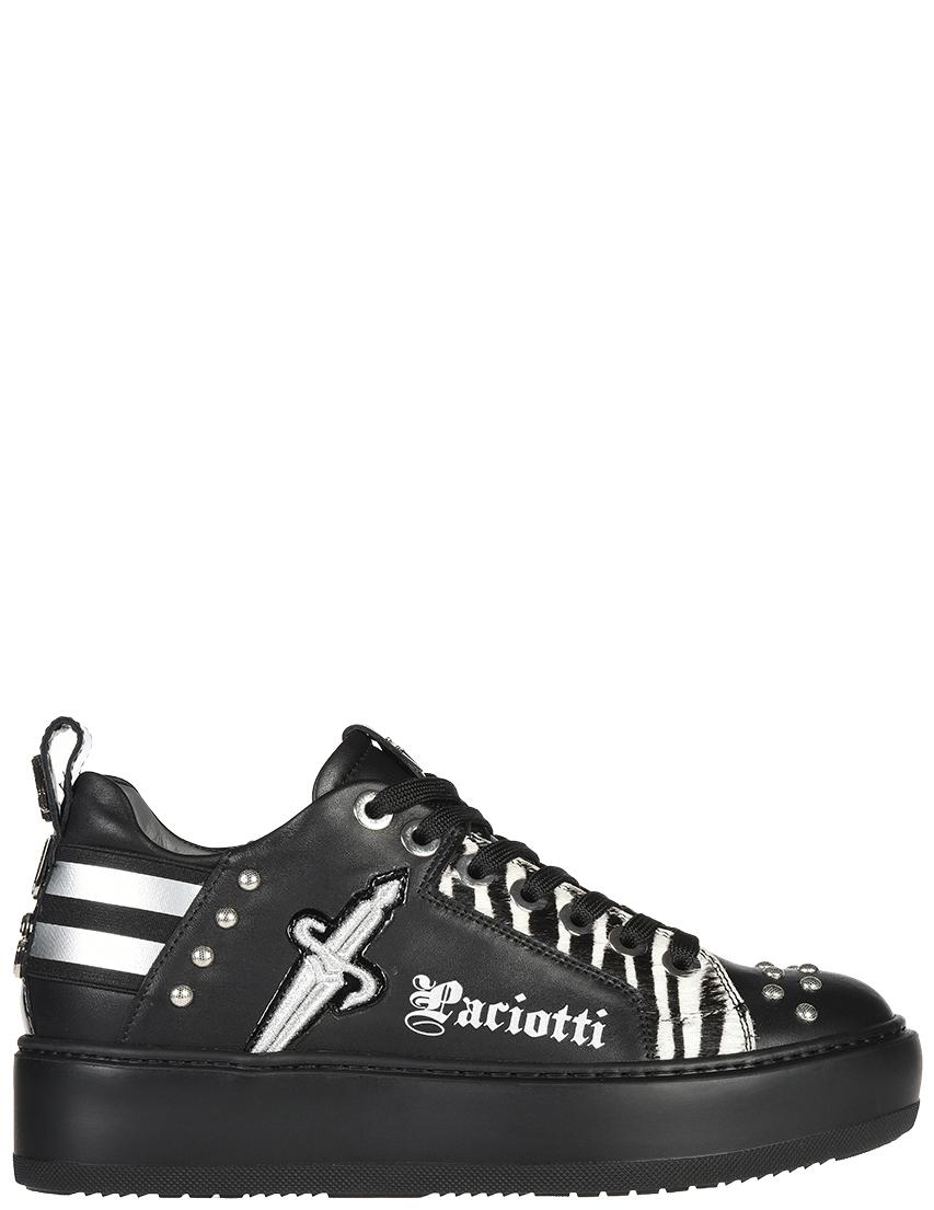 Женские кроссовки 4US Cesare Paciotti D5BRRF_black