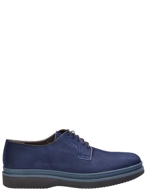 мужские синие Дерби Lagerfeld 6791326760 - фото-7