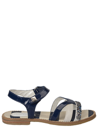 Босоножки для девочек MONNALISA 875049_blue