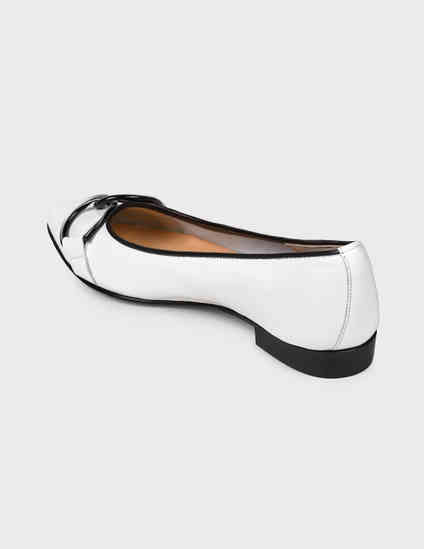 белые женские Балетки Luca Grossi 1007-white 6613 грн