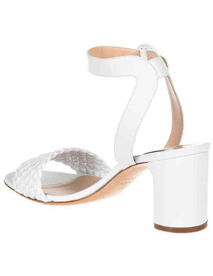 белые женские Босоножки Casadei AGR-1L306_white 12755 грн